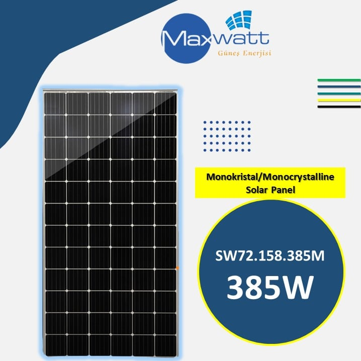 Read more about the article Monocrystalline Solar Panel 385W 72 Cells